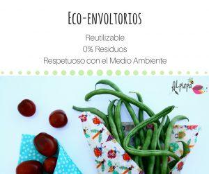 Castañas en envoltorio ecológico y natural alpispa