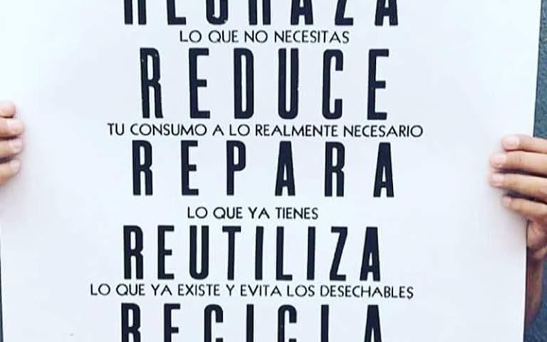 reflexiona rechaza reduce repara eutiliza reciclaje